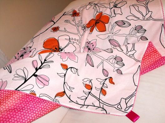 pink and orange floral quilt (1)